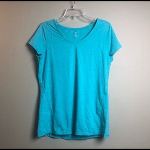 Z by Zella Blue Athletic Workout Shirt